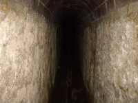Imatge de l'interior de la mina.