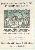 Anunci de l'època. Publicat a la revista GuiaparCollserola