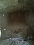 24.12.2014. Imatge de l'interior de la cisterna.