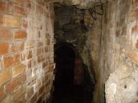 3.10.2009. Imatge de l'interior de la mina.