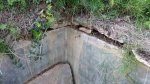 16.11.2016.- Tub de la bassa per on entrava l'aigua de la font.