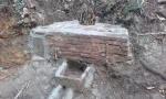26.01.2017.- La pica després de la reparació feta per l'Ajuntament de Sant Just Desvern.