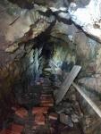 Interior de la mina. Imatge cedida per Miquel T.