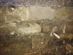 07.02.2018.- Imatge dels dos tubs a la part interior de la mina.