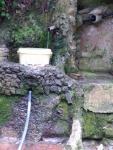 05.06.2018.- Imatge de la bassa i el tub.