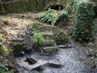 Imatge general de la font netejada pels Voluntaris del Parc.