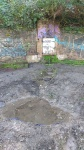 10.11.2018.- Vista de la font i de la bassa per a amfibis.