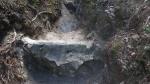 07.09.2019. Imatge de la font i de la bassa de sedimentació.