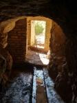 01.02.2020. Imatge de l'interior de la mina mirant a l'exterior.