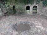 05.09.2020. Imatge de les tres mines i de la petita bassa.