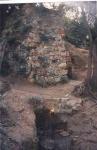 Foto antiga de la font, de l'Arxiu Històric de Roquetes - Nou Barris (Autor, Miquel Tormos).