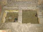 15.03.2021. Les basses on arriben les dues canaletes de les galeries.