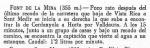 """Fragment del llibre de X. Coll, """"Fuentes en las Montañas de Barcelona"""". Editorial Alpina, any 1963"""