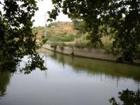 Imatge de l'estany.