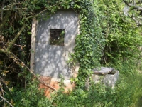 09.04.2006. Imatge de la caseta del pou.