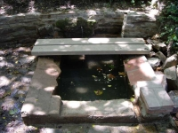 10.07.2010. Imatge de la bassa-safareig.