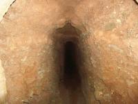 08.05.2011. Imatge de l'interior de la mina.