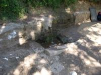 08.10.2005. Imatge de la bassa i el tub.