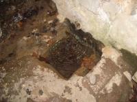 11.03.2007. Imatge de la bassa i el tub.