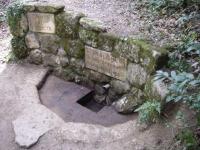 31.03.2007.- Vista de la font després de netejar-la el grup de Voluntaris.