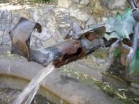Imatge del tub on es mostra la figura del drac.