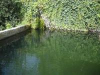 9.04.2006.- Imatge de l'embassament on va a parar l'aigua.