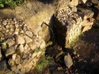 2.11.2016. Imatge de la bassa i el tub.