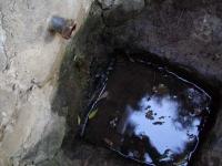 02.06.2007. Imatge de la bassa i el tub.