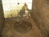 20.10.2007. Imatge de la bassa i el tub.