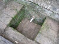 13.10.2008. Imatge de la bassa i el tub.