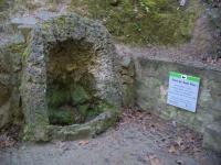 31.03.2007. Imatge de la cova on hi ha la bassa i el tub.