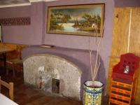 26.07.2009. Imatge de la font a l'interior del menjador