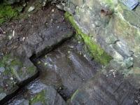 23.03.2008.- Imatge de la bassa i el tub.