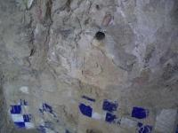 11.08.2007.- Imatge de la zona de relleu central on hi havia el tub.