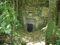 14.07.2007. Imatge de l'entrada de la mina.