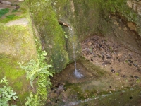Imatge del tub i de la pica.