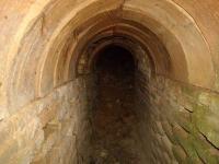 17.07.2009. Imatge de l'interior de la mina.