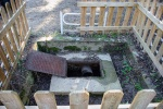 Imatge del tub i la gran bassa.