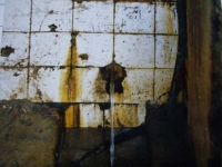 Imatge antiga del tub. Foto de l'Arxiu Històric de Roquetes- Nou Barris (Autor, Miquel Tormos).