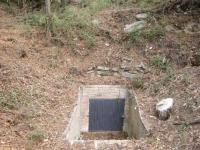 Imatge de l'entrada a la font.