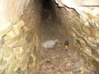 02.12.2006. Imatge de la mina de sota de l'embassament.