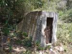 Imatge de l'entrada a la mina.