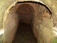 04.12.2005. Imatge de l'interior d'una mina.