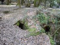 9.03.2013. Imatge de les restes de la font.