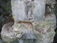 Imatge del frontal i on estava la pica.