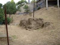 04.08.2010.- Imatge d'on estava situada la font.