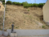 Imatge de la zona on estava la font.