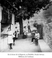 Font de la Magnesia a Pedralbes